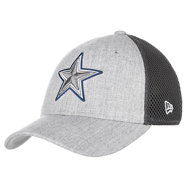 Dallas Cowboys New Era Jr Heathered Neo Pop 39Thirty Cap