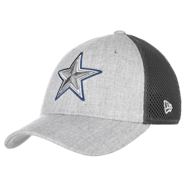Dallas Cowboys New Era Jr Heathered Neo Pop 39Thirty Cap