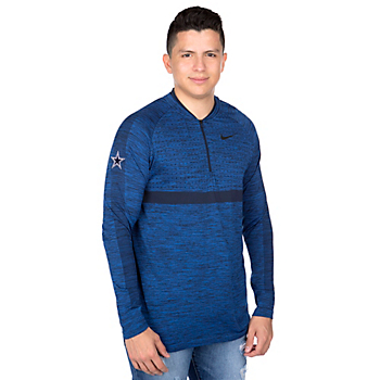 Dallas Cowboys Nike Dry Half-Zip Top