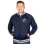 Dallas Cowboys Mitchell & Ness Top Prospect Track Jacket
