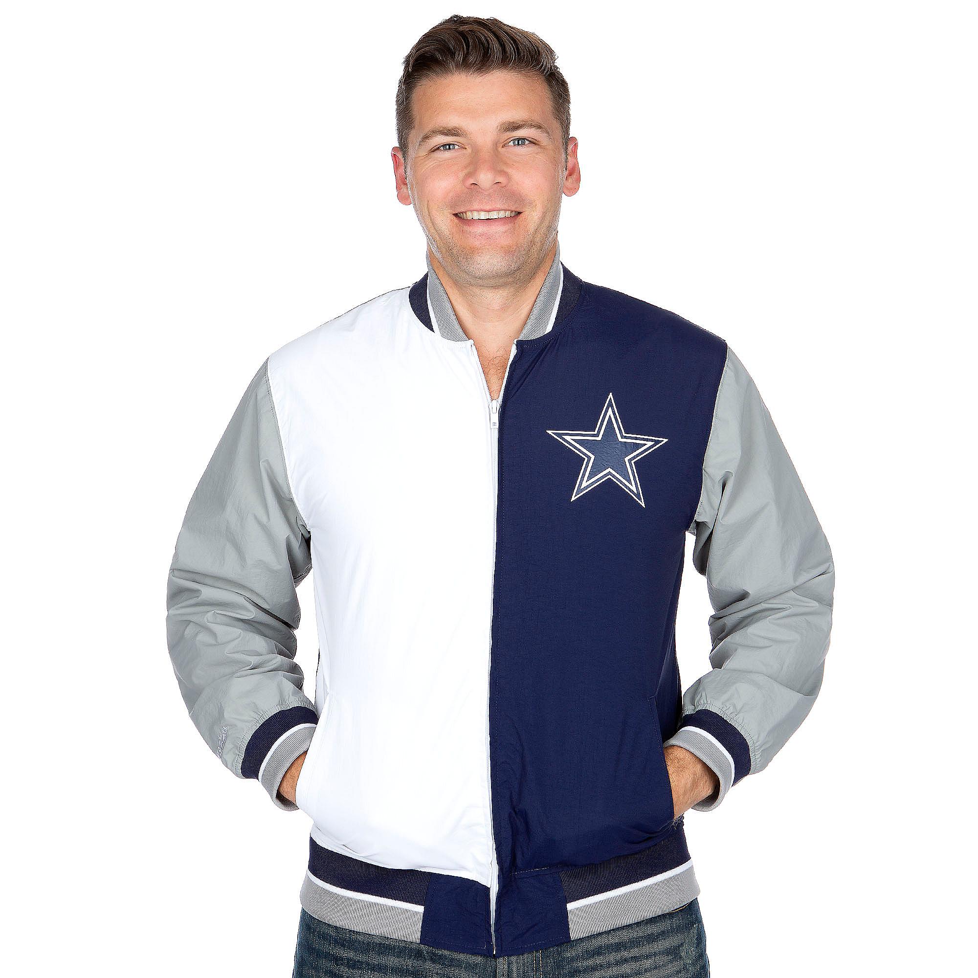 brand new 3550f 72789 Dallas Cowboys Mitchell & Ness Team History Warm Up Jacket   Dallas Cowboys  Pro Shop