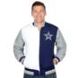 Dallas Cowboys Mitchell & Ness Team History Warm Up Jacket