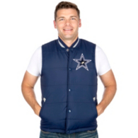 Dallas Cowboys Mitchell & Ness Amazing Catch Vest