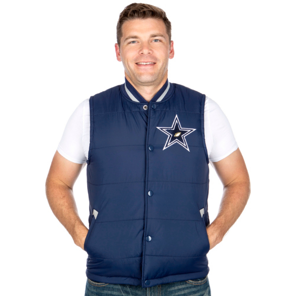Dallas Cowboys Mitchell & Ness Amazing Catch Vest