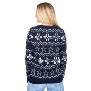 Dallas Cowboys Womens Light Up Bluetooth Ugly Sweater Dallas