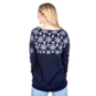 Dallas Cowboys Womens Snowflake V-Neck Ugly Sweater