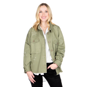 Studio By Together Star Army Jacket