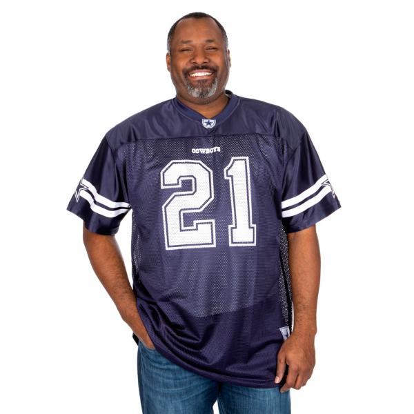 Dallas Cowboys Big and Tall Ezekiel Elliott Jersey