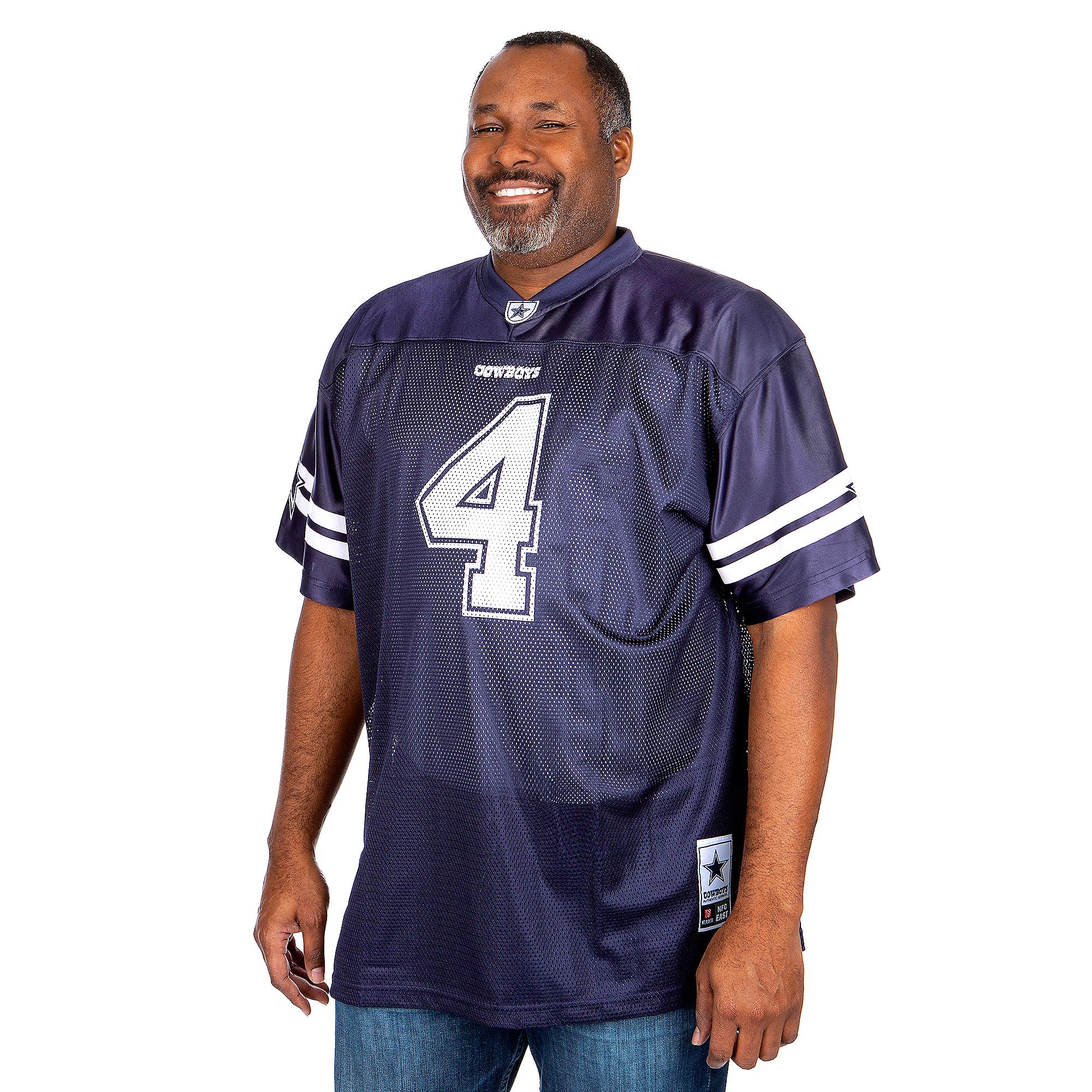 1e77bbe0 Dallas Cowboys Big and Tall Dak Prescott Jersey | Dallas Cowboys Pro Shop