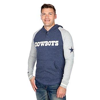 Dallas Cowboys Mitchell & Ness Slugfest Lightweight Hoodie