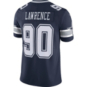 Dallas Cowboys Demarcus Lawrence #90 Nike Navy Vapor Limited Jersey