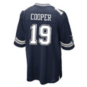 Dallas Cowboys Amari Cooper #19 Nike Navy Game Replica Jersey