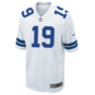 Dallas Cowboys Amari Cooper #19 Nike White Game Replica Jersey