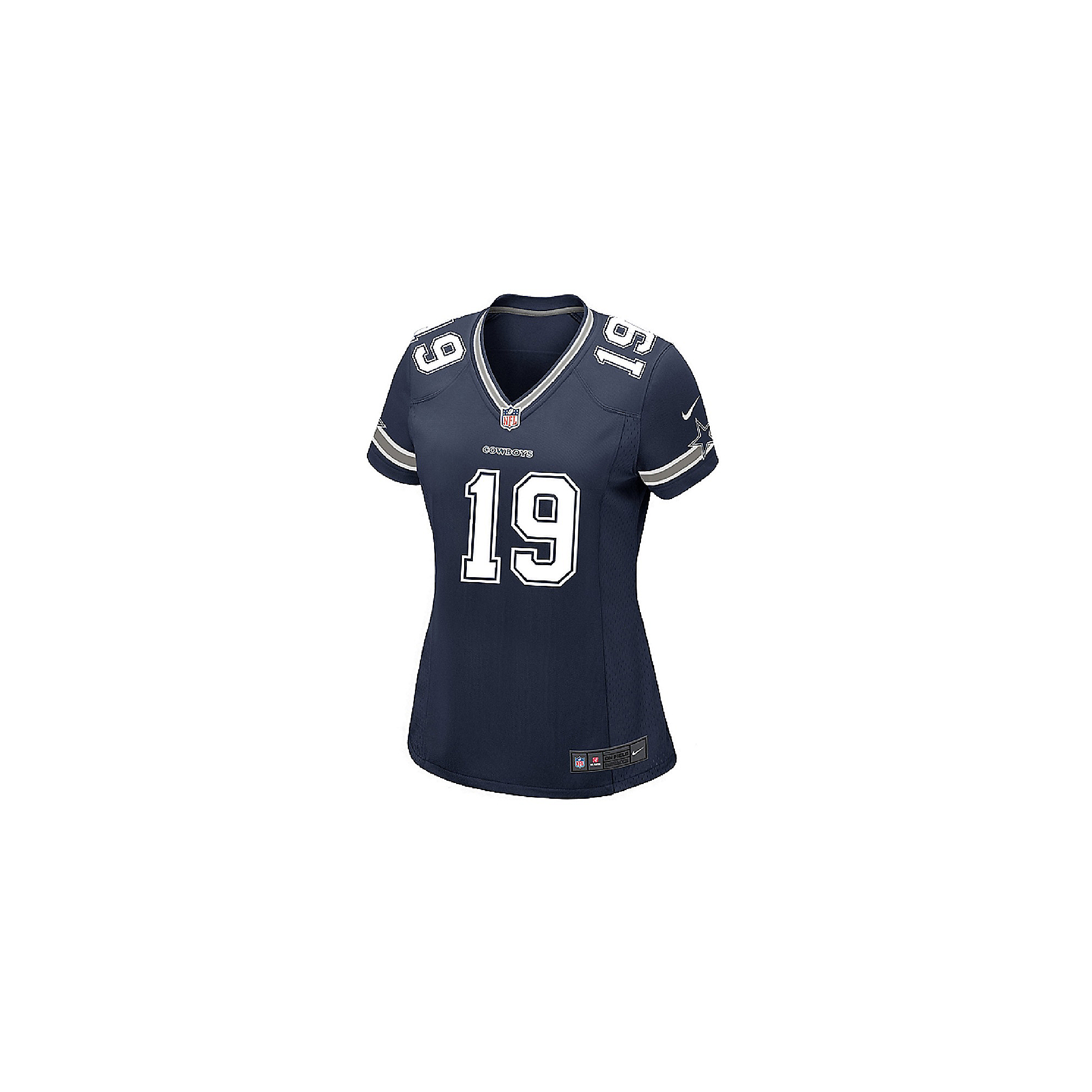 separation shoes 522d9 f09a7 Dallas Cowboys Womens Amari Cooper #19 Nike Navy Game Replica Jersey |  Dallas Cowboys Pro Shop