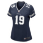 Dallas Cowboys Womens Amari Cooper #19 Nike Navy Game Replica Jersey
