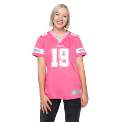 womens pink dallas cowboys jersey