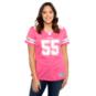 Dallas Cowboys Womens Leighton Vander Esch #55 Pink Jersey