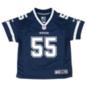 Dallas Cowboys Kids Leighton Vander Esch Nike Navy Game Replica Jersey