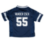 Dallas Cowboys Toddler Leighton Vander Esch Nike Navy Game Replica Jersey