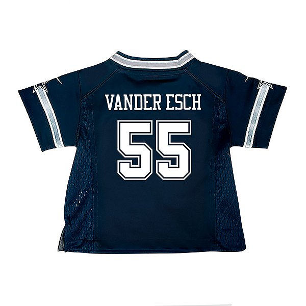 Dallas Cowboys Infant Leighton Vander Esch Nike Navy Game Replica Jersey