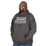 Dallas Cowboys Big and Tall Practice Hoody