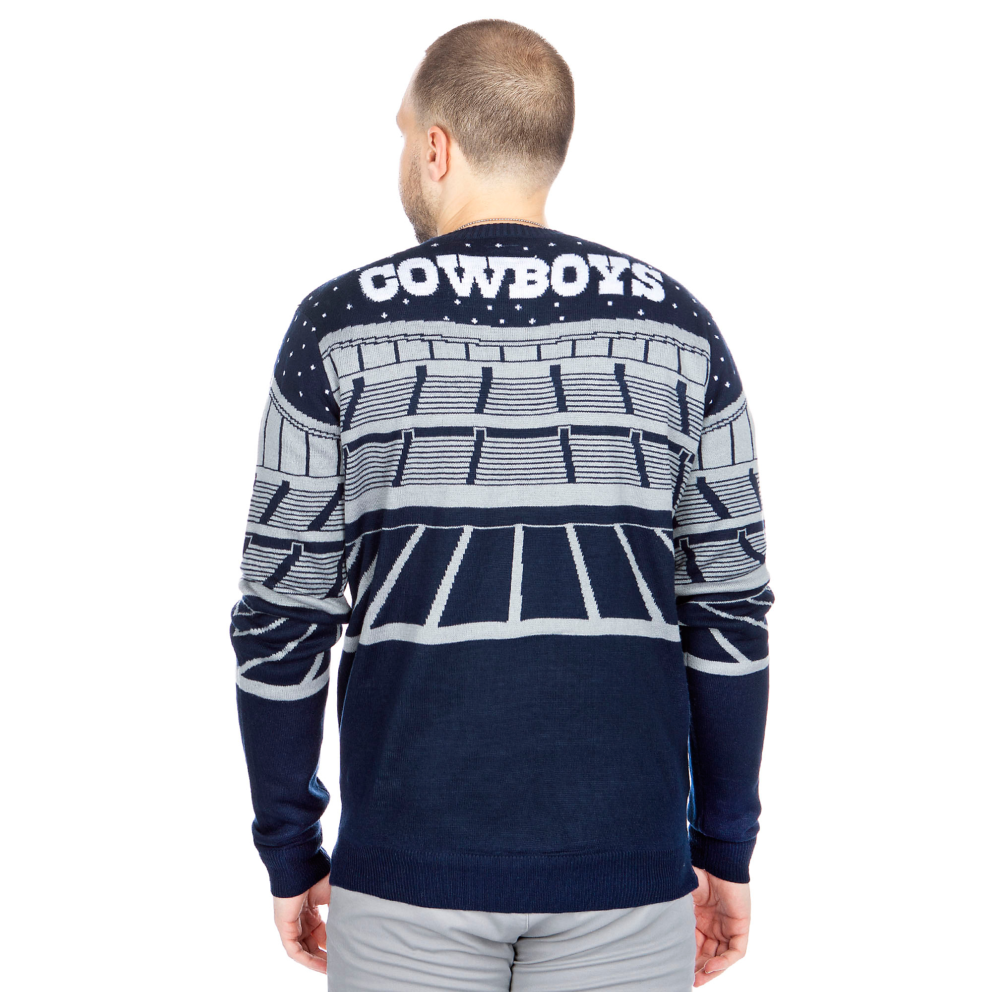 promo code a6198 d4a8a Dallas Cowboys Bluetooth Ugly Sweater | Fans United