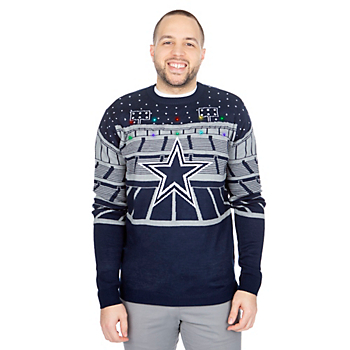5ac650222 Dallas Cowboys Bluetooth Ugly Sweater