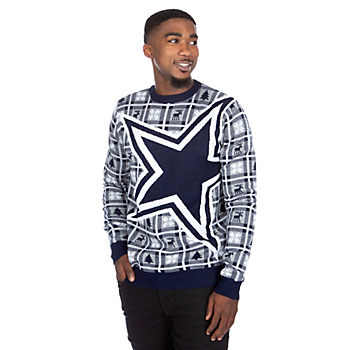 Dallas Cowboys Big Logo Ugly Sweater
