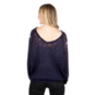 Studio Blank Paige Dark Navy White Star Sweater
