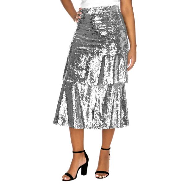 Studio Endless Rose Tiered Midi Skirt