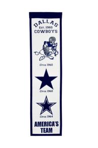 Dallas Cowboys Fan Favorite Banner