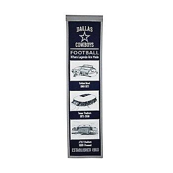 Dallas Cowboys Stadium Evolution Banner