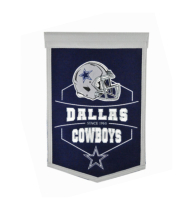 Dallas Cowboys Revolution Helmet Banner