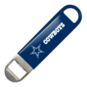 "Dallas Cowboys 7"" Vinyl Bottle Opener"