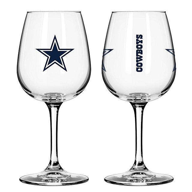 Dallas Cowboys 12oz Gameday Wine Glass