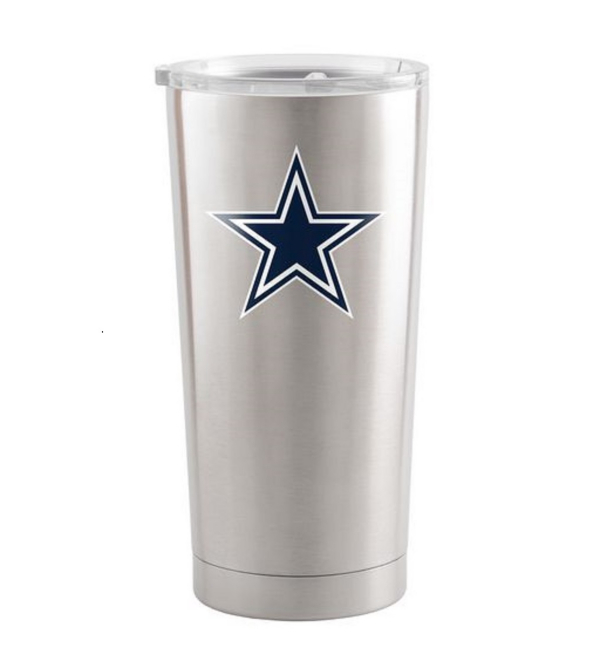 Dallas Cowboys 20oz Silver Ultra Tumbler