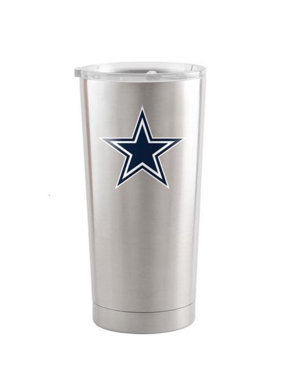 Dallas Cowboys 20oz Silver Ultra Tumbler