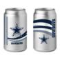 Dallas Cowboys 16oz Chrome Glass Can