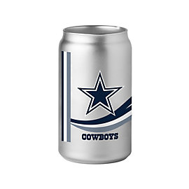 Dallas Cowboys 16oz Chrome Glass Can