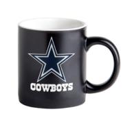 Dallas Cowboys 14oz Matte Black Mug