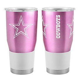 Dallas Cowboys 30oz Pink Ultra Tumbler