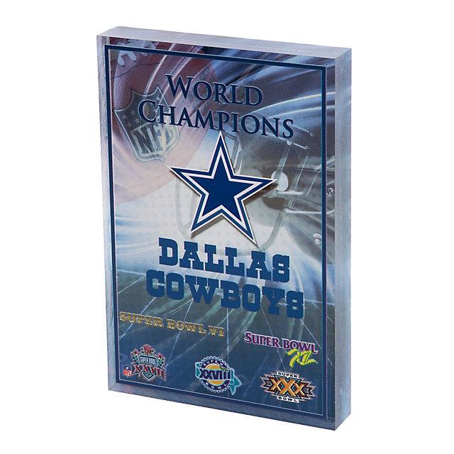 Dallas Cowboys Pride 3D Block