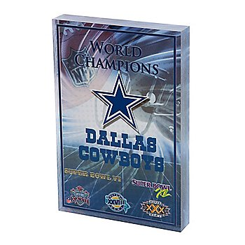Dallas Cowboys 3D Block
