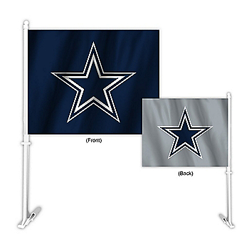 Dallas Cowboys Home and Away Car Flag