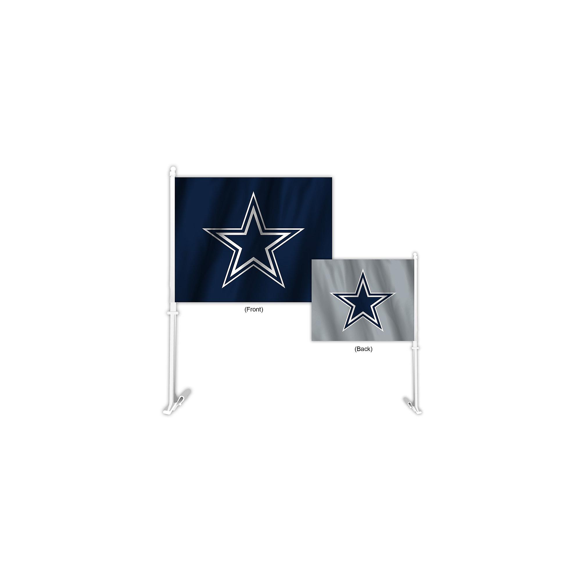 Dallas Cowboys Home and Away Car Flag  5945314ea