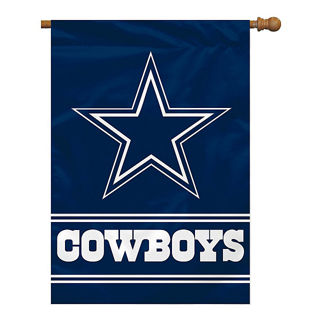 Dallas Cowboys Logo House Flag
