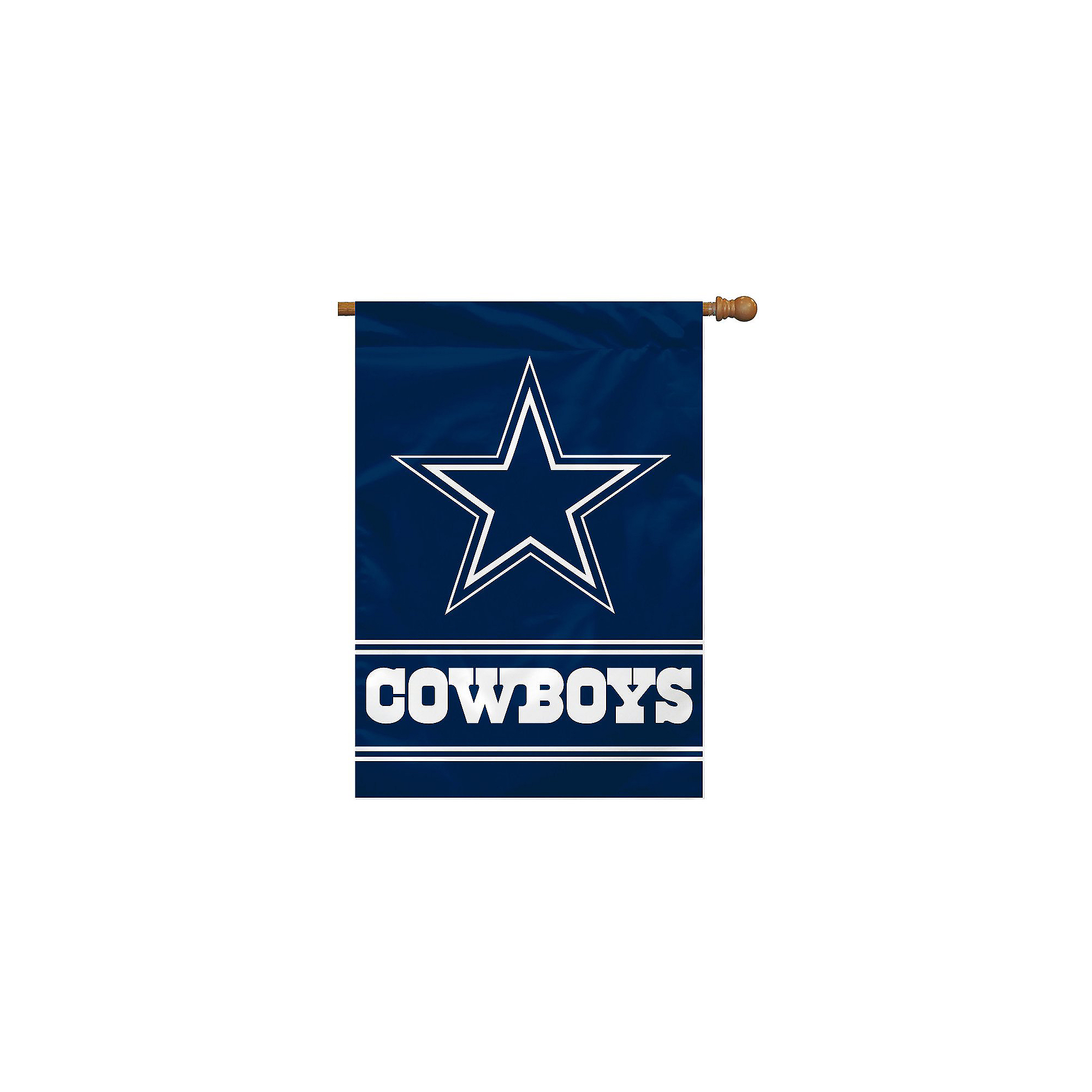 Dallas Cowboys Logo House Flag