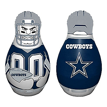 Dallas Cowboys Full Size Bop Bag