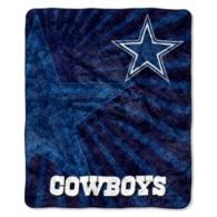 Dallas Cowboys Strobe Sherpa Throw