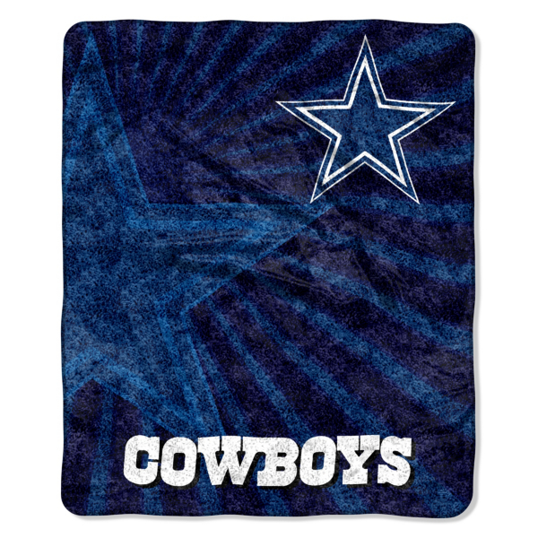 Dallas Cowboys Strobe Sherpa Throw